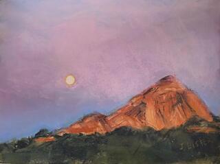 Sedona Moonrise
