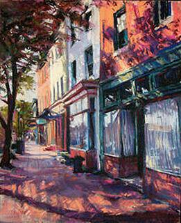 Thames Street  Giclee print