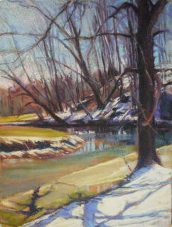 Winter Light  Giclee Print