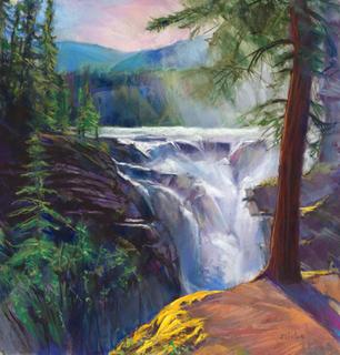 Athabasca Falls 3  Giclee Print