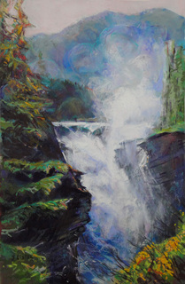 Athabasca Falls 2  Giclee Print