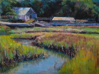 Tidal Marsh  Giclee Print