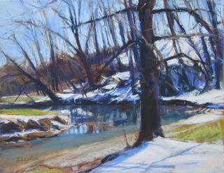 Winter Reflections  Giclee print